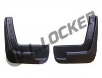 L.Locker Брызговики Chevrolet Aveo II SD/HB 2012- передние к-т