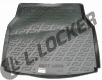 Коврик в багажник Mercedes C-class (S203) universal 2001-2007 полимерный L.Locker