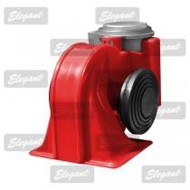 Сигнал звуковой «улитка» 2-тоновый Nautilus 12V красный Elegant