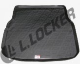 L.Locker Коврик в багажник Mercedes C-class (W204) sedan 2007-2011  полиуретановый