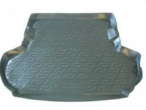 Коврик в багажник Mitsubishi Outlander XL 2007-2012  полиуретановый L.Locker