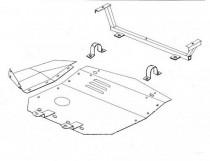 Кольчуга Защита двигателя Audi 100/A6 C4, V 2.0/2.5 TD