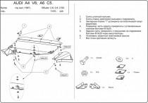 Кольчуга Защита двигателя Audi A6 C5 1997-2004
