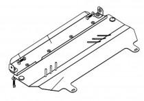 Кольчуга Защита двигателя Citroen С3 2002-2009
