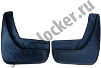 L.Locker Брызговики Chevrolet Captiva (06-13) задние к-т