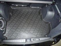 Коврик в багажник Mitsubishi Outlander XL 2007-2012 саб.  полимерный L.Locker