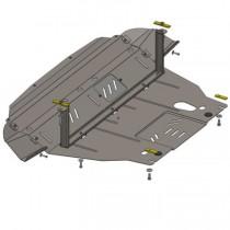 Кольчуга Защита двигателя Hyundai IX35 2010- ZiPoFlex®, бенз.