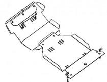 Кольчуга Защита двигателя Jeep Liberty 2001-2008