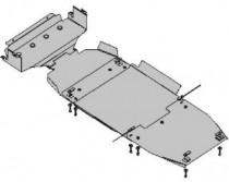 Кольчуга Защита двигателя Kia Sorento 2006-2009 (Луцкая сборка)  ZiPoFlex®