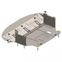Кольчуга Защита двигателя Kia Sportage III 2010-2015 ZiPoFlex®, V 2.0