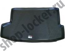 L.Locker Коврик в багажник Nissan Juke 2014- полиуретановый