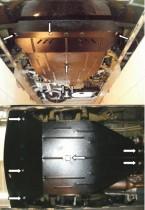 Кольчуга Защита двигателя Mercedes-Benz Vito/Viano W639 2004-, 2.0CDI 4х4