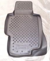 Коврики в салон глубокие полиуретановые Honda Accord 2003- чёрные Autoform