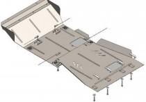Кольчуга Защита двигателя Nissan Navara III 2005-2010 ZiPoFlex®