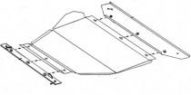 Кольчуга Защита двигателя Peugeot 605