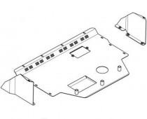 Кольчуга Защита двигателя Peugeot Boxer 1994-2006