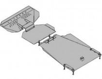 Кольчуга Защита двигателя Ssang Yong Action 2006-  ZiPoFlex®