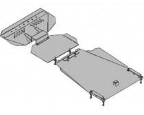 Кольчуга Защита двигателя Ssang Yong Kyron 2005-  ZiPoFlex®