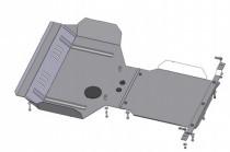 Кольчуга Защита двигателя Subaru Forester 2008-2012, V 2.0 ZiPoFlex®