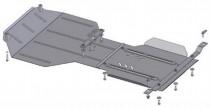 Кольчуга Защита двигателя Subaru Forester 2008-2012, V 2.5  ZiPoFlex®