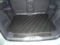 L.Locker Коврик в багажник Opel Zafira B 2005-2012 полимерный