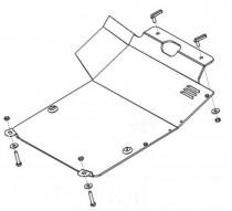 Кольчуга Защита двигателя Volkswagen Passat B3/B4, без гидроусилителя
