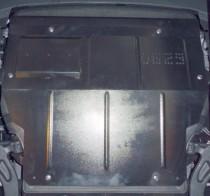 Кольчуга Защита двигателя Volkswagen Transporter T-5/T-6, поверх штатной защиты