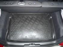 Коврик в багажник Peugeot 207 hatchback 2007-2012 полимерный  L.Locker