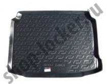 Коврик в багажник Peugeot 308 hatchback 2013- полимерный  L.Locker