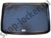 Коврик в багажник Renault Clio 2012- полимерный L.Locker