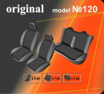 Оригинальные чехлы Hyundai Sonata NF 2004-2009 задняя спинка цельная EMC