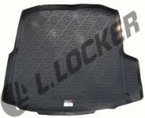 Коврик в багажник Skoda Octavia A7 полимерный L.Locker