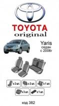 Оригинальные чехлы Toyota Yaris SD 2006-2011 EMC