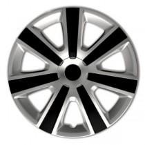 Колпаки 4Racing VR Silver&Black  R13 4 Racing