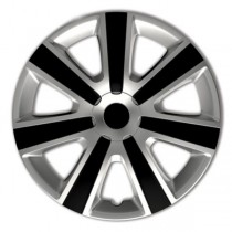 Колпаки 4Racing VR Silver&Black  R14 4 Racing