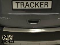 NataNiko Накладка с загибом на бампер Chevrolet Tracker