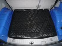 Коврик в багажник Volkswagen Caddy 2004- полимерный  L.Locker