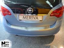 NataNiko Накладка с загибом на бампер Opel Meriva B