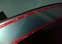 NataNiko Накладка с загибом на бампер Peugeot 308 5D 2013-