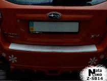 NataNiko Накладка с загибом на бампер Subaru XV