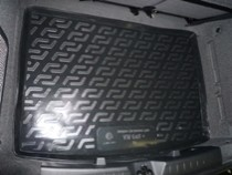 Коврик в багажник Volkswagen Golf+  полимерный  L.Locker