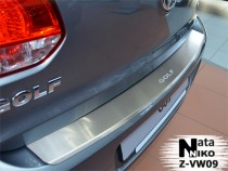 NataNiko Накладка с загибом на бампер VW Golf V 5D
