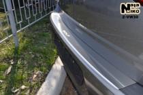 NataNiko Накладка с загибом на бампер VW Golf VII HB