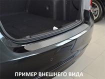 NataNiko Накладка на задний бампер Chevrolet Captiva 2011-