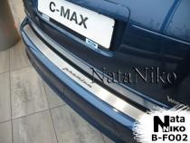 NataNiko Накладка на задний бампер Ford C-Max 2009-2014