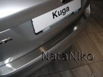 NataNiko Накладка на задний бампер Ford Kuga 2008-2012