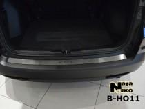 NataNiko Накладка на задний бампер Honda CR-V IV 2012-