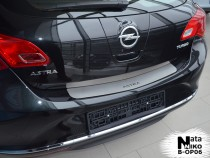 NataNiko Накладка на задний бампер Opel Astra J 5D