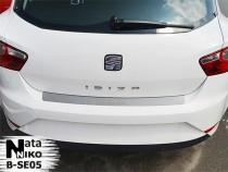 NataNiko Накладка на задний бампер Seat Ibiza IV 5D 2008-