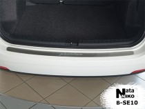 NataNiko Накладка на задний бампер Seat Ibiza IV UN 2010-